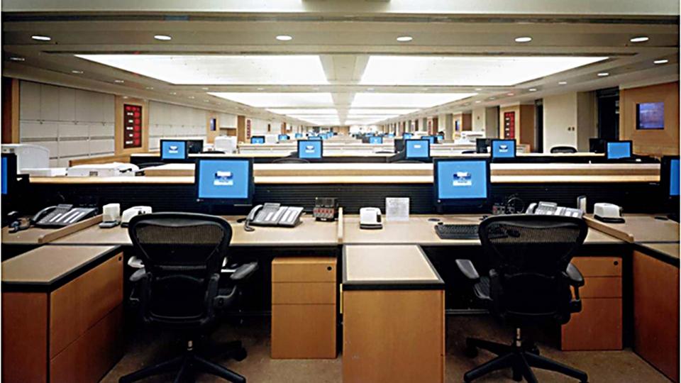 the interiors of goldman sachs office in new york nizio design